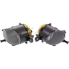 GM2592301C GM2593301C Pair LH+RH Clear Lens Fog Light Lamp for Chevy Malibu SRX