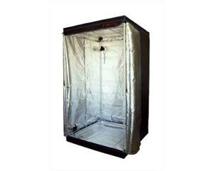 Hobby Grow Tent 100 x 100 x 200 Hydroponics Indoor Garden Silver