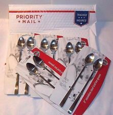 NEW Long Handle Spoons 10 Stainless Iced Tea Shakes Floats FIVE Norpro 2-Packs