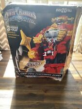 Power Rangers HUGE Play Set Lion Fire Fortress Zord NEW Open Box