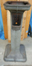 Delta Milwaukee Rockwell Cast Iron Pedestal For Bench Tool Grinder