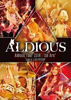 "Aldious Tour 2018 ""We Are"" Live at LIQUIDROOM DVD New w/Tracking No. From Japan"