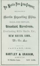 Marlin 1882 Fire Arms Company - Ballard Rifles - Revolvers (Original Reprint)