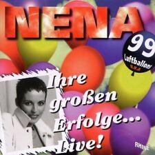 Nena Ihre grossen Erfolge..live! (12 tracks, 1996) [CD]