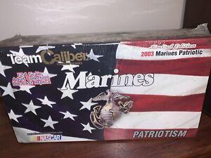 2003 Team Caliber Bobby Hamilton Jr #25 US Marines Patriotic Taurus Sealed Box