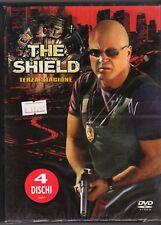 dvd Cofanetto THE SHIELD Terza Stagione Contiene 4 dischi