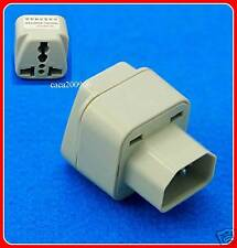 Universal Computer IEC 320 Travel Adapter AC Power Plug C14 Accept UK USA EU AUS