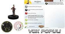 VOX POPULI #010 #10 Bioshock Infinite Heroclix gravity feed microset