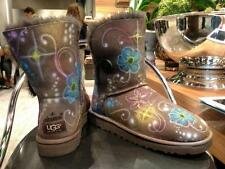 AIRBRUSH winter Lammfell Boots Wild Leder Australia Ugg customized fashion style