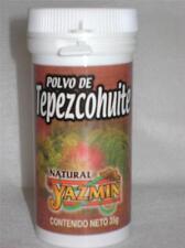 POLVO TEPEZCOHUITE-POWDERED PURE BARK sunburn acne eczema psoriasis scars