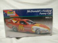 Revell Monogram McDonald's Firebird Funny Car 1:24 scale Skill 3 85-7636