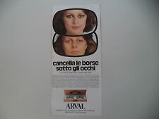advertising Pubblicità 1977 ARVAL