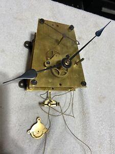 ANTIQUE SETH THOMAS NO. 62 B WEIGHT REGULATOR CLOCK MOVEMENT