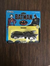 NEW MOC 1989 ERTL DIE-CAST METAL 1/43 SCALE BATMAN BATMOBILE