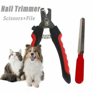 Supplies Dog Claw With File Grooming Scissors Nail Trimmer Cutter Nail Clipper