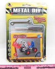 Metal DIY ~ Excavator toy ~ Develops Mechanical Skills / Erector