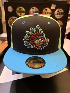 """Ogden Raptors MiLB New Era 59Fifty """"2020 Copa Collection"""" Fitted Hat Size 7-3/8"""