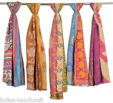 100 Vintage Cotton Kantha Shawl Scarves Pashmina Hand quilted Wrap SC68 U