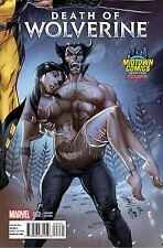 DEATH OF WOLVERINE 2 RARE J SCOTT CAMPBELL MIDTOWN CONNECTING VARIANT NM