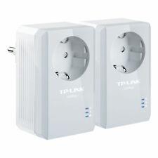 TP-LINK TL-PA4010PKIT AV500 Powerline Adapter KIT mit Frontsteckdose LAN-Port
