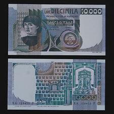RIPRODUZIONE COPY 10.000 LIRE DEL CASTAGNO BANCONOTA REPUBBLICA LIRA 10000 FDS