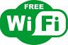 Free Wifi Sign Sticker Window Vinyl Decal - Cafe Bar Pub Coffee Shop Restaurant