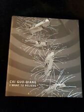 New listing Cai Guo-Qiang I Want to Believe 1st edition 2008 Guggenheim photography art