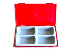 Teng Tools 4 COMPARTIMENTS PLATEAU RANGEMENT AVEC amovible Bouchon TT03