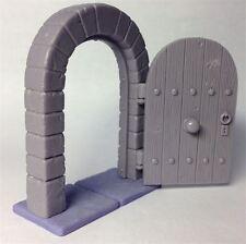 Practicable Door (open and close) for 28mm miniatures, heroquest, wargames