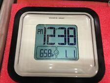 The Sharper Image Weatherproof Atomic Clock Model: OQ007  *14