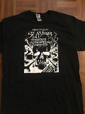 Slayer exodus possessed thrash metal dead stock shirt sale adult large