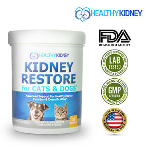 Healthy Kidney Support Cats Dogs Probiotic Powder Urinary Track Essential 3.17Oz