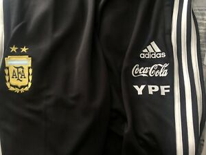 NWT Adidas AFA Argentina 2019 Training X-LARGE Pants with Sponsors