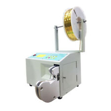 Automatic Metallic Ribbon Twist Tie Coiling Machine for Candy Tying Packing 220V