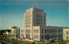 Long Beach CA~Metropolis Hotel~Mountain View Cafe~Post Office~1940s City Bus~Car