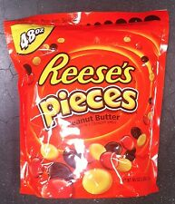 REESES PIECES Peanut Butter Candy 48 Oz 3 Lbs CHOCOLATE Vend BULK Bag