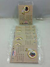 1996 Washington Redskins, Lot of (6) Exxon Football Card, Brand New Sealed Packs