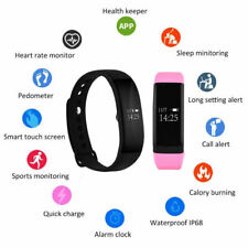 Waterproof Smart Bracelet Heart Rate Monitor Sports Band Watch Fitness Tracker