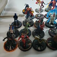 heroclix lot of uniques limited rare no cards valued from $5 to 15 over 40