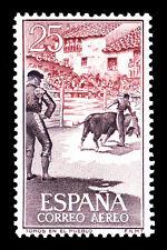"Bullfighting Spain Stamp Poster #4 Canvas Art Poster 16""x 24"""