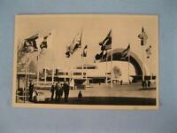 New York Worlds Fair 1939 Vintage Postcard Aviation Building East And West (O)