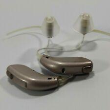 PAIR OF Oticon Acto Mini RITE cbe Digital BTE Hearing Aid used