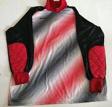 Vintage Score Soccer Jersey - Shirt - Goalkeeper Keeper - Adult Large - Red