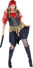Piratin Gertie Gr. L Karneval Damen Frauen Pirat Kostüm Piratenbraut  8739