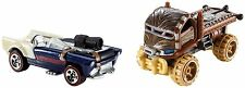 HOT WHEELS STAR WARS CHARACTER CAR 2-PACK, HAN SOLO AND CHEWBACCA VEHICLES