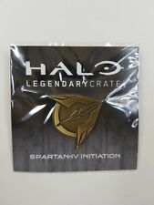 Halo Founder Pin Legendary Loot Crate Lootcrate Bronze color NEW! Spartan-IV