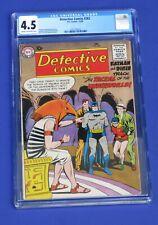 Detective Comics #262 CGC 4.5 Batman Golden Age 1958 Jackal of the Underworld