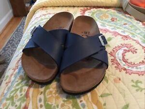 Birki's BIRKENSTOCK Double cross sandals, 35-36 NEW