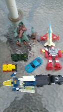 Vintage Lot of 80's Remco Zybots Transformers