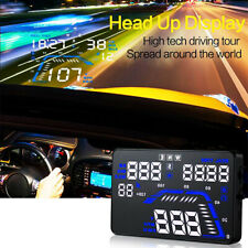 "1pc 5.5"" Car HUD GPS Head Up Display Fuel Consumption Speedometers Compass Q7"